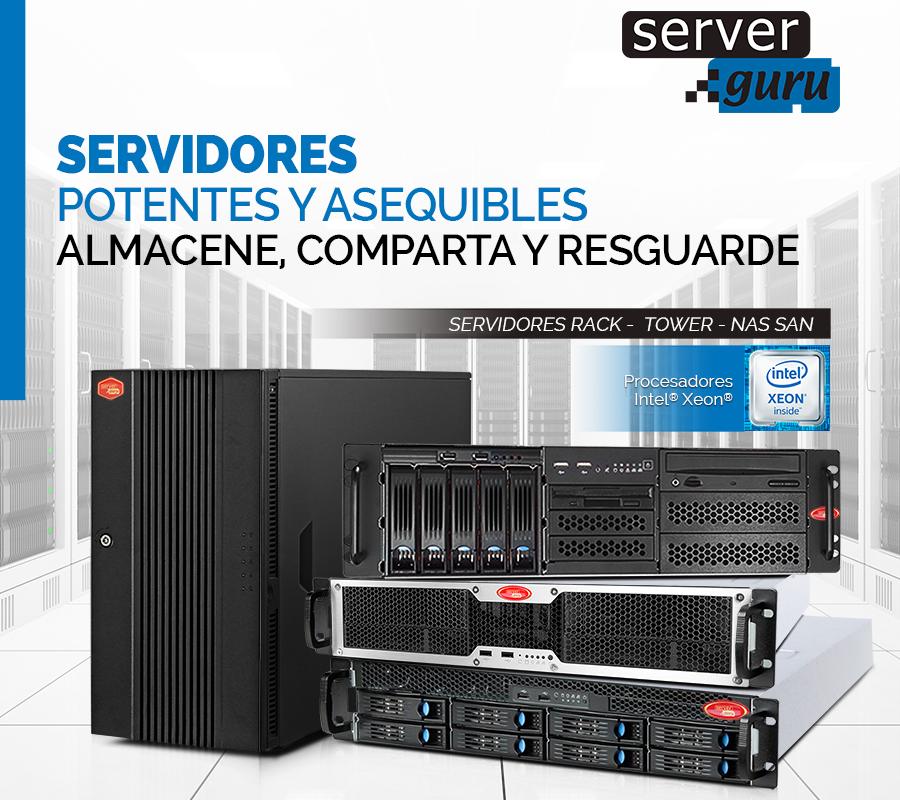 Servidores para virtualización